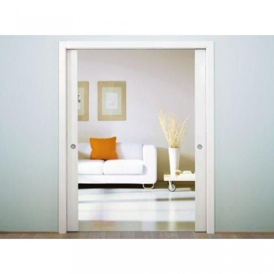 Eclisse Sliding Pocket Door System Double Door Kit 100mm