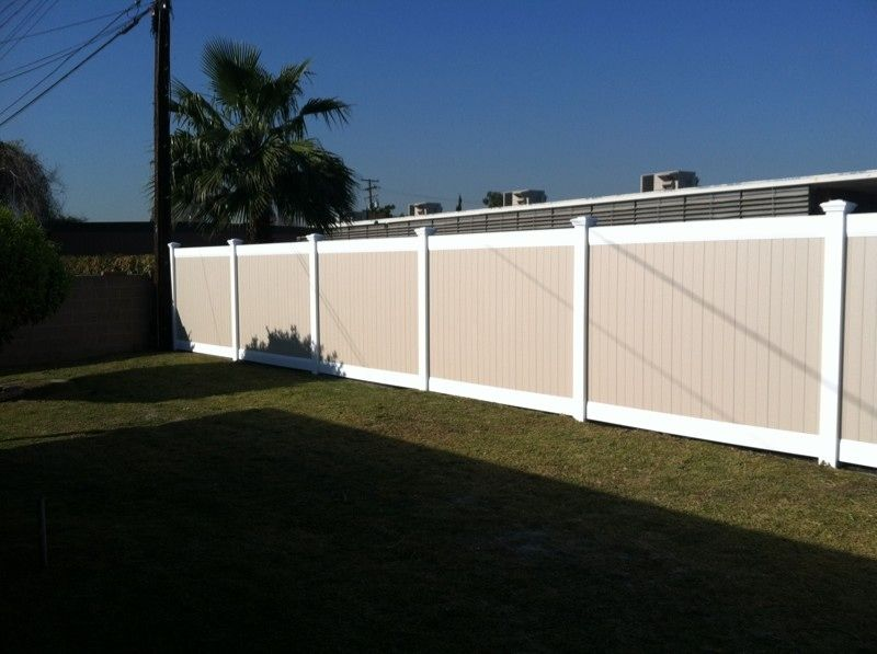 Showtime Vinyl Fence Orange County Vinyl Fence Company