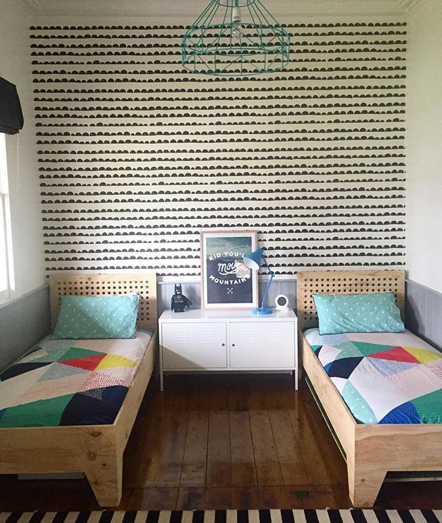 Emma Brian On Instagram Having Some Colour Fun With The Boys Bedroom Today We Re Using The Flip Side Of The Kid Room Decor Kids Room Inspiration Kid Spaces