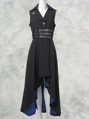 Gothic high-low dress...love