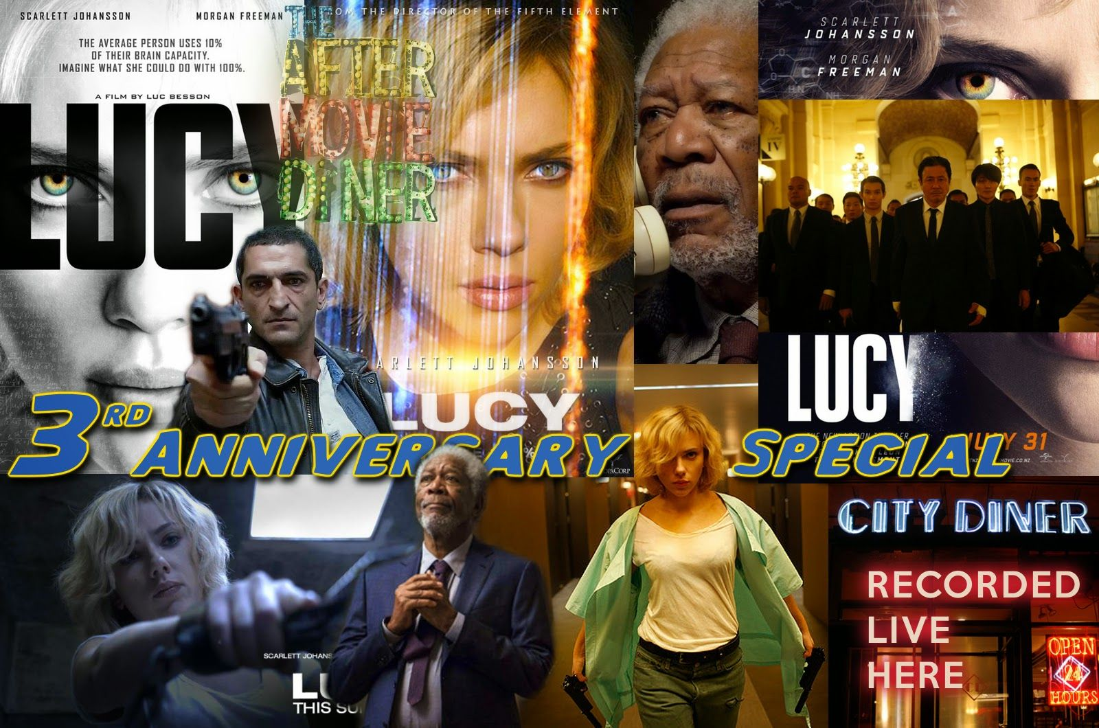 Podcast from the After Movie Diner: Episode 131 - 3rd Anniversary Show/Lucy