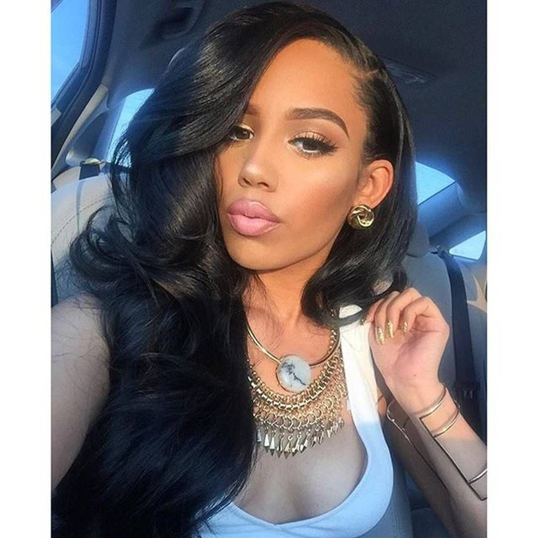 jet black hair styles hairinspiration hair goals she is absolutely beautiful 7223