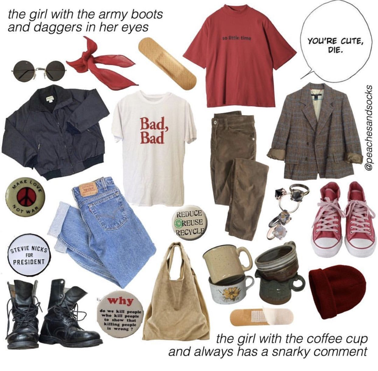 Vintage Fashion Aesthetic Clothes Cool Outfits