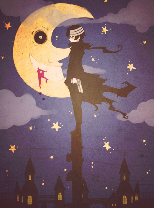 Death the Kid- Soul Eater. This would look so awesome in my room!