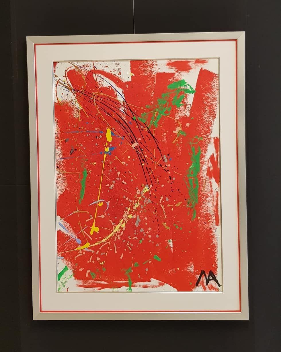 Gefallt 1 Mal 0 Kommentare Galerie Wehr Galeriewehr Auf Instagram Mikail Akar Red Museumsrahmung Galerie Wehr Passepartout Mit Silberner In 2020 Art Painting