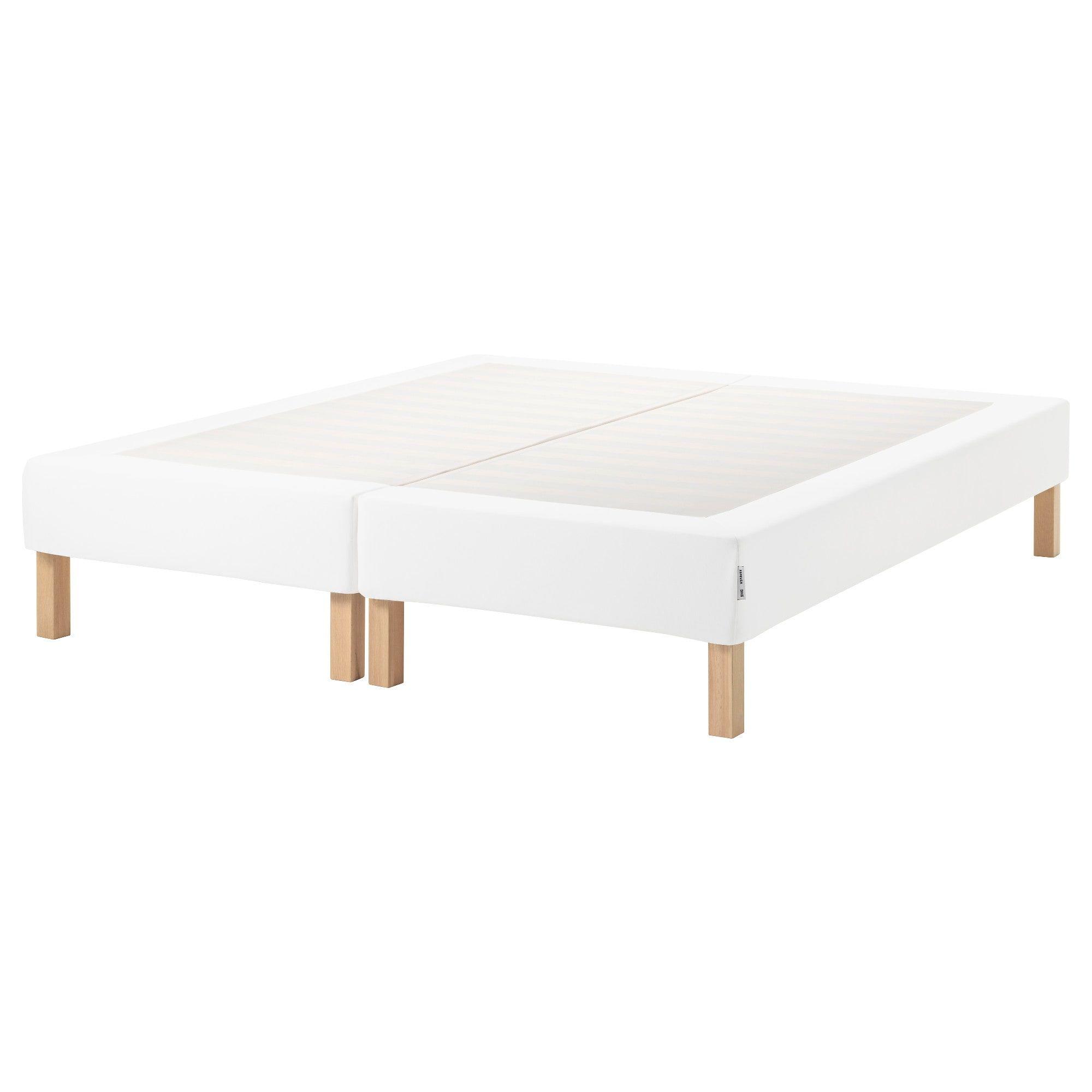 Espevar Sommier A Lattes Avec Pieds Blanc 160x200 Cm Bettgestell Lattenrost Ikea