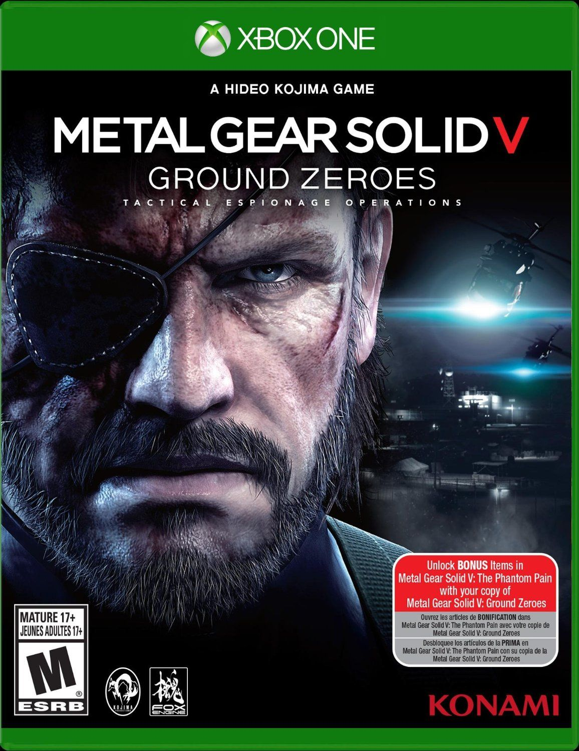 2ac0f6999a Metal Gear Solid V  Ground Zeroes - Xbox One Standard Edition for  29.99