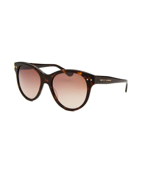 d84c7af9e43 David Yurman   Women s Floating Logo Round Dark Tortoise Sunglasses   style    353179201
