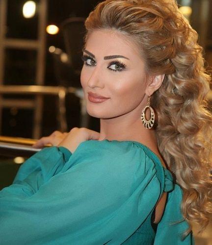 صور الفنانة السورية هبة نور Photo Heba Noor Beautiful Arab Women Overnight Hairstyles Down Hairstyles