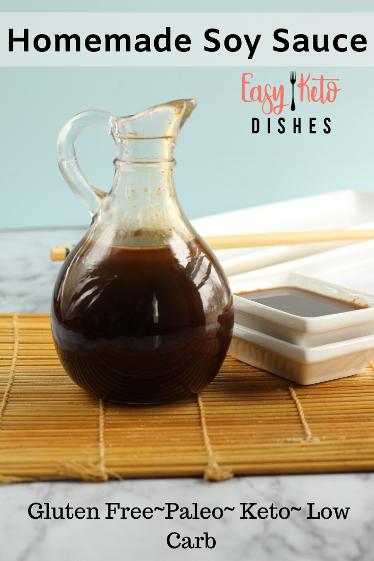 Gluten Free Soy Sauce (keto, low carb, paleo friendly) Gluten Free Soy Sauce (keto, low carb, paleo) * Easy Keto Dishes