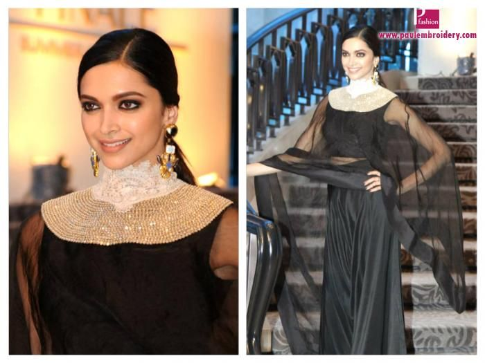 Deepika-Padukone-walked-for-Anamika-Khanna-Show-at Lakme