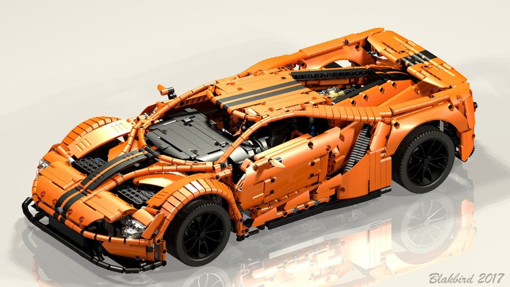 Ford Gt Ford Gt Ford Lego Moc