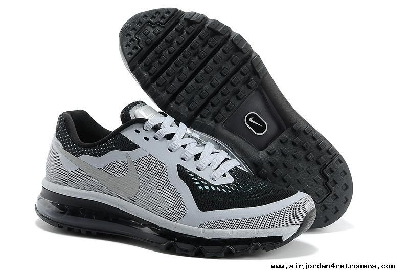 072a07a10dd4 Mens Nike Air Max 2014 Dark Grey Black Men    s Shoes 2013