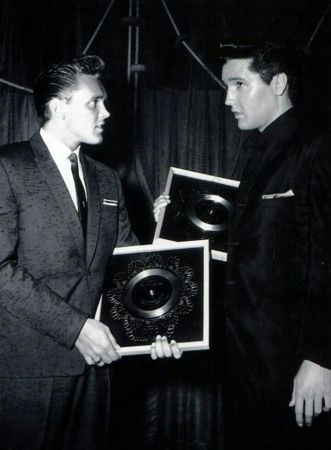 Billy fury and elvis