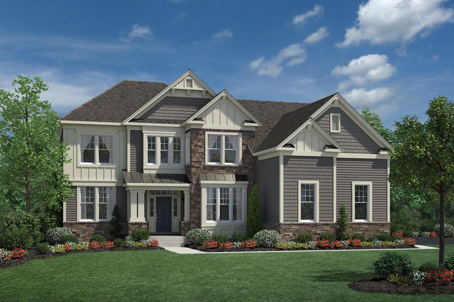 Columbia II at Reserve at Medina luxury new homes in