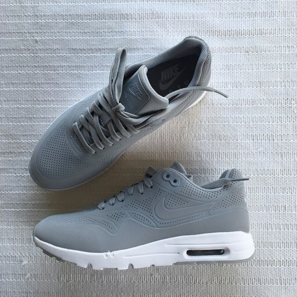 finest selection ee680 e7ae6 Nike Air Max 1 Ultra Moire Grey Nike Air Max 1 Ultra Moire Style Color   704995-002 • Women s size 7.5 • NEW in box (no lid) • No trades • 100%  authentic ...