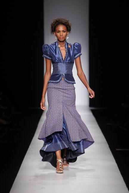 Shweshwe—Indigo Fabric from South Africa | African wedding attire ...