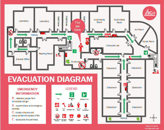 Evacuation Label Template Best Professional Template