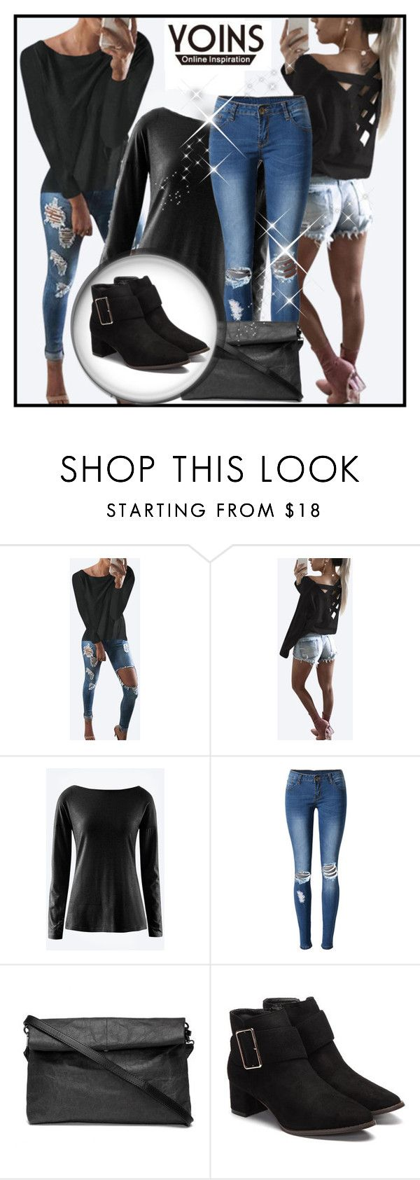 """""""Yoins 18."""" by belma-cibric ❤ liked on Polyvore featuring WithChic, yoinscollection and loveyoins"""