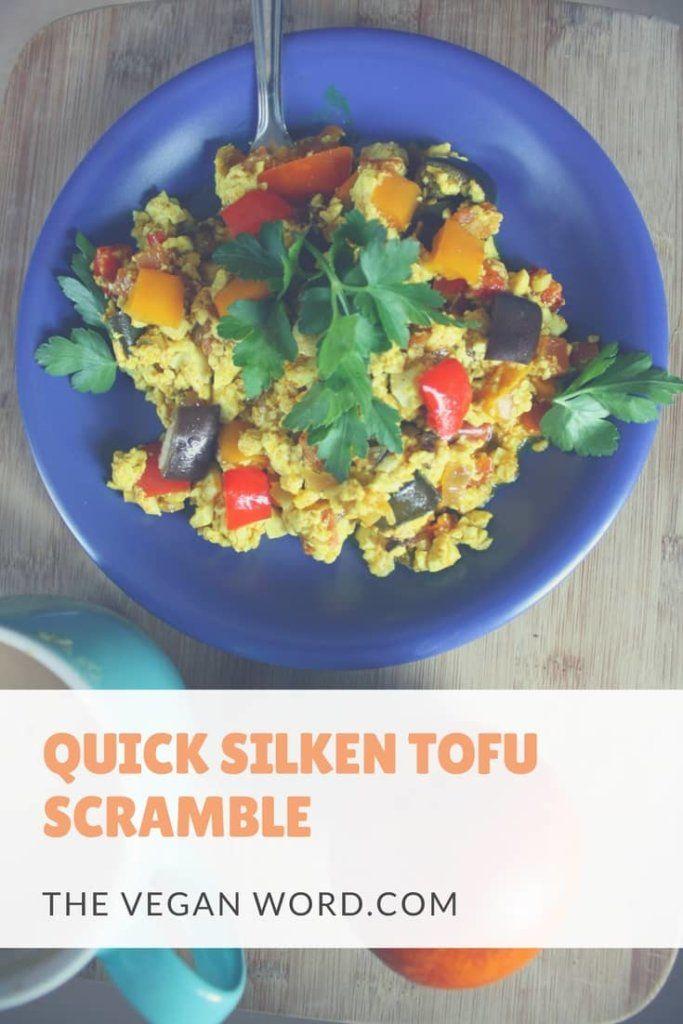 Quick 10-Minute Silken Tofu Scramble
