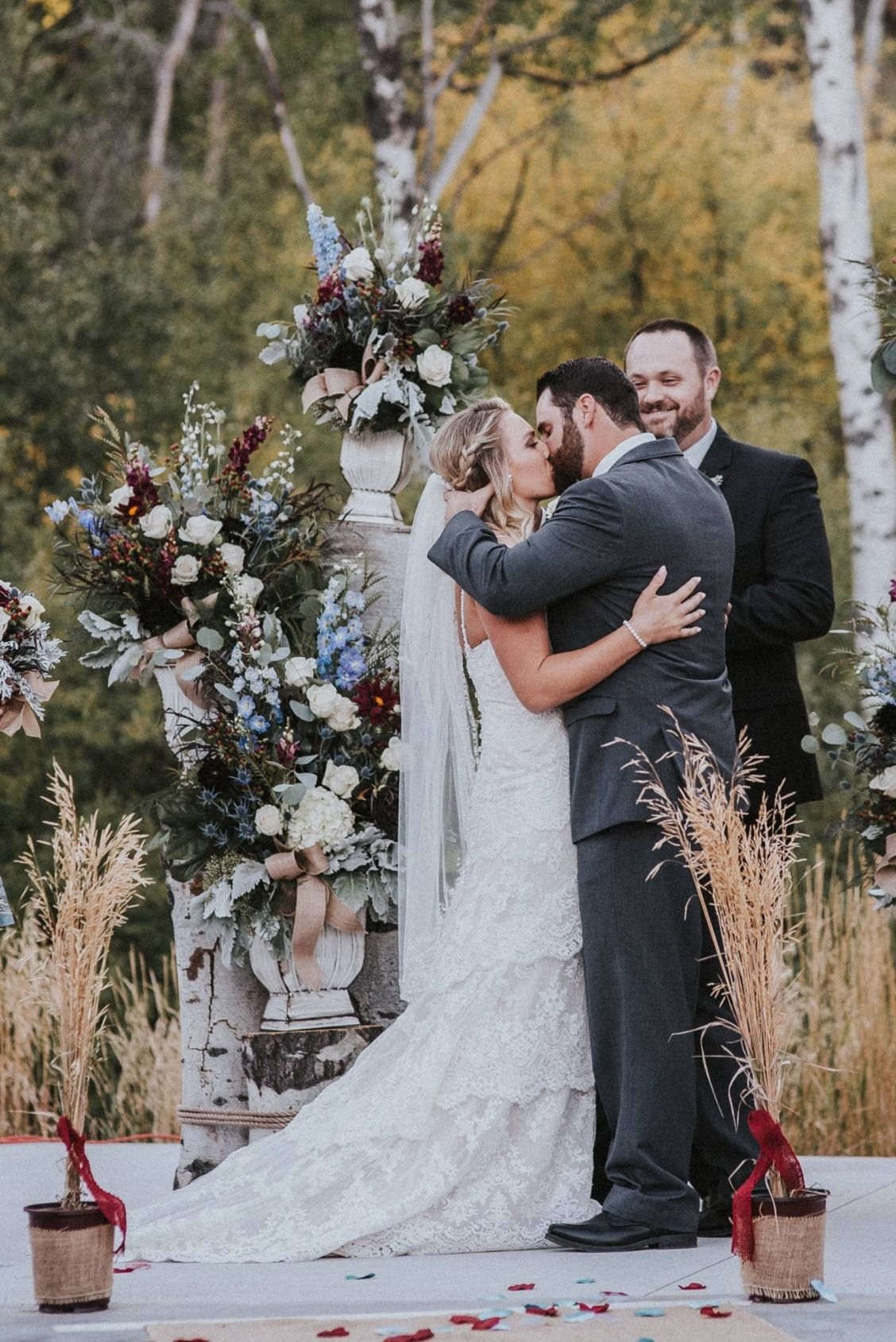 Intimate Backyard Idaho Wedding Alle Adam