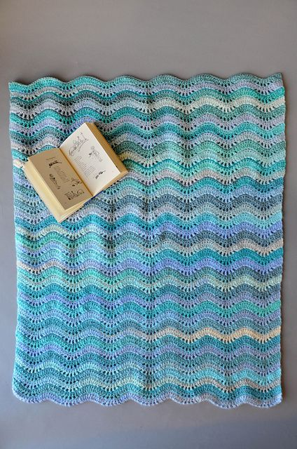Inchworm Baby Blanket pattern by Universal Yarn | knit and crochet ...