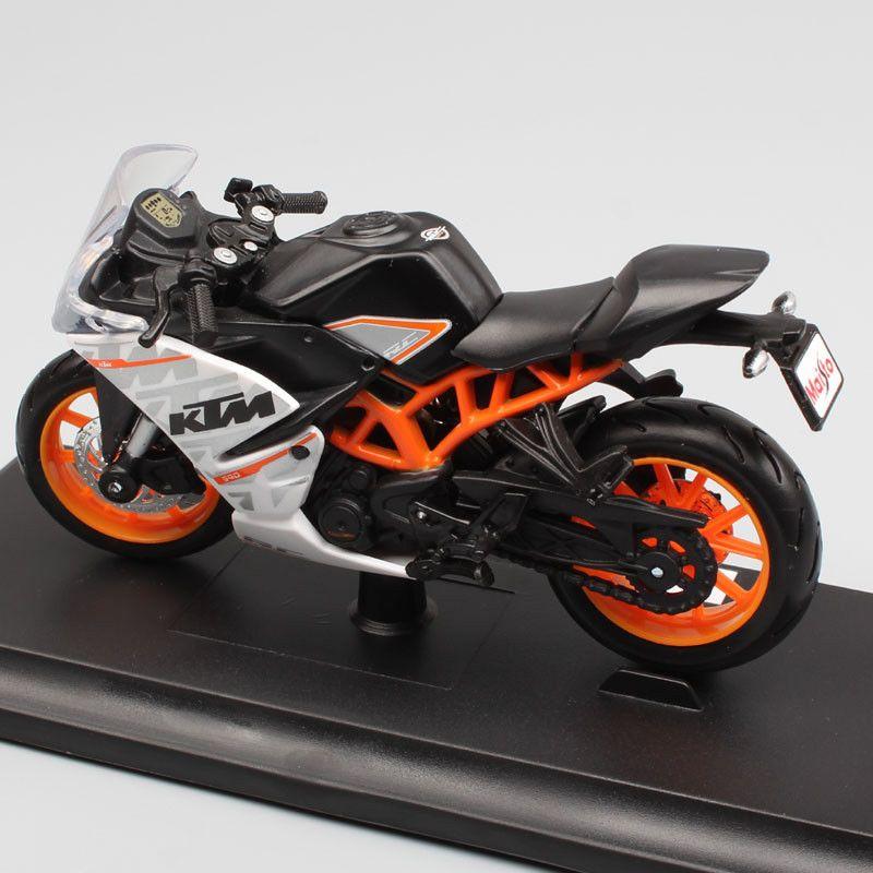 1 18 Scale Maisto Ktm Rc390 Motorcycle Diecast Model Bike Racing