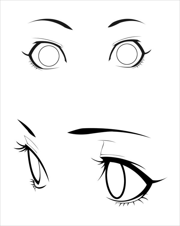 Ruby Rwby Blake Yang Weiss Anime Eyes Manga Drawing Eye Drawing