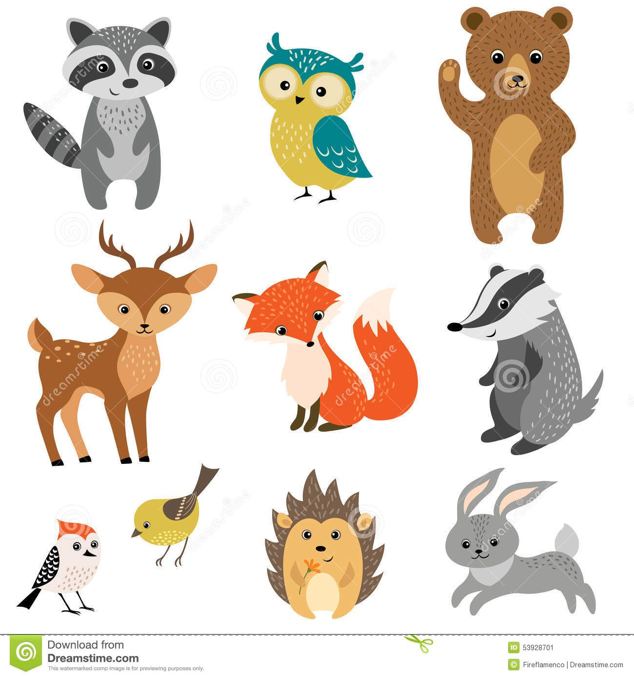 Cute Forest Animals Download From Over 59 Million High