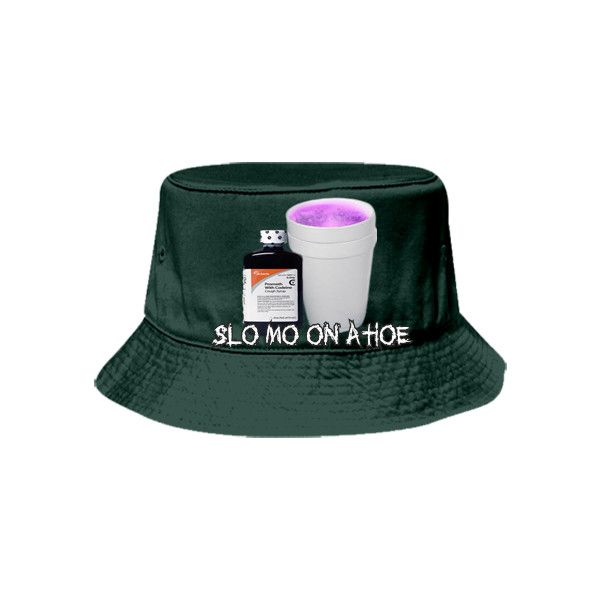 92a4e189282 SLO MO ON A HOE Bucket Hat Otto Cap 16-096 16-0962041 Custom Heat ...