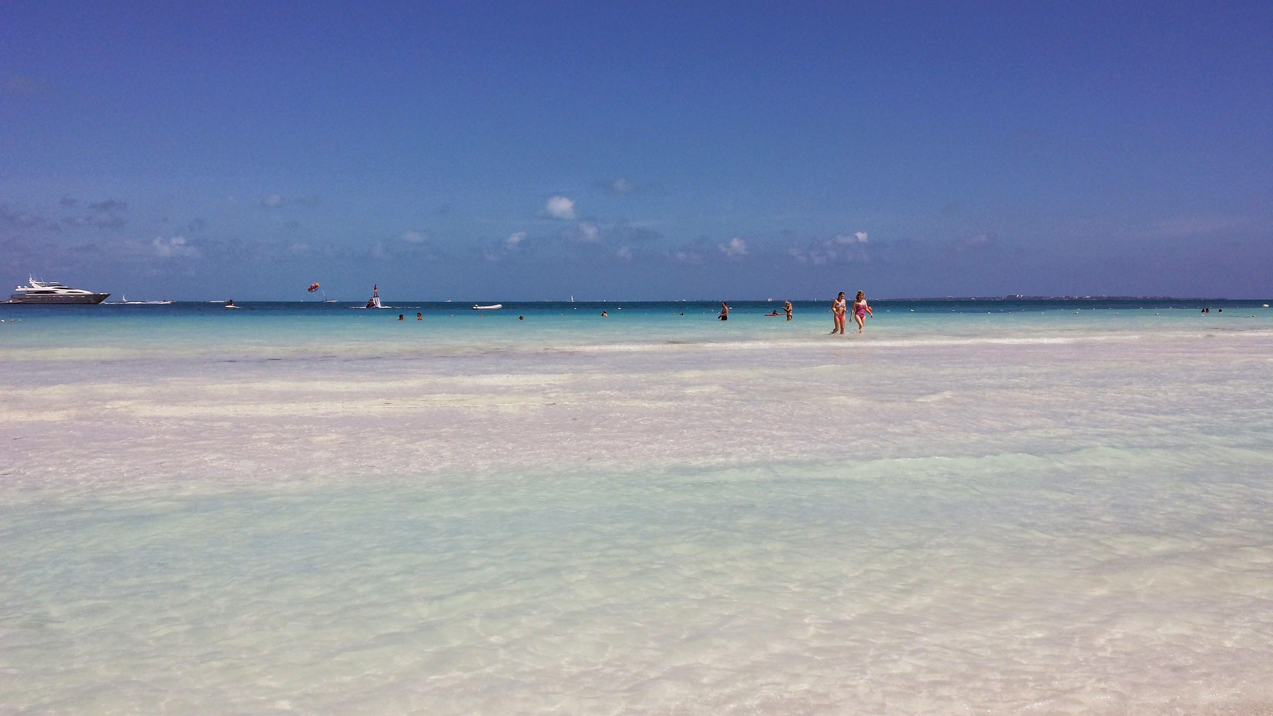Best Beaches In Cancun  Playa Delfines - Cancun -