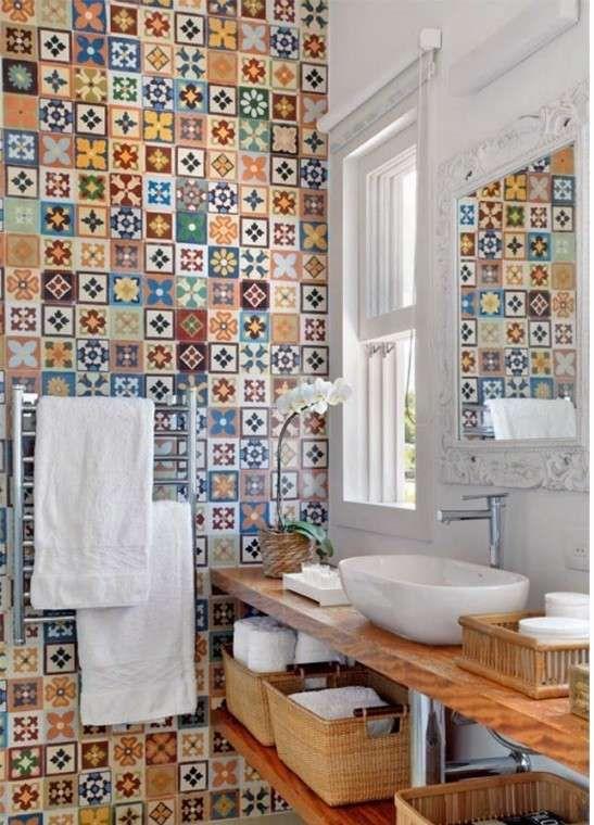 Image result for piastrelle maiolica moderne home decor - Piastrelle 10x10 bagno ...