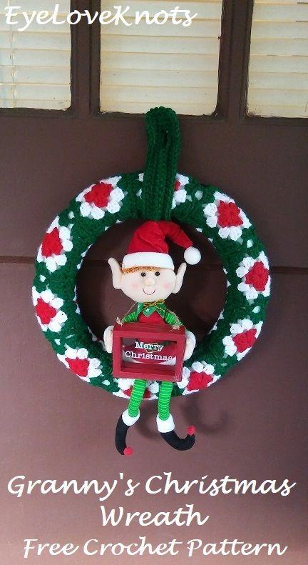 Photo of Omas Weihnachtskranz – Kostenlose Häkelanleitung #EyeLoveKnots #DIYChristmas …