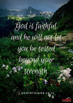 God is Faithful Print | Zazzle.com