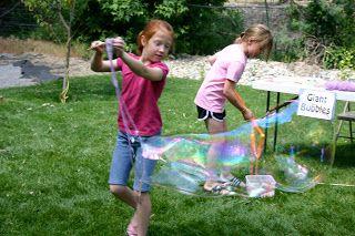 Puddle Wonderful Learning: Bonus Activity: DIY Giant Bubble Blower {Bubble Week}