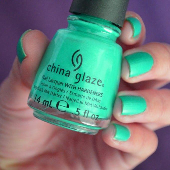 China Glaze – Turned up turquoise