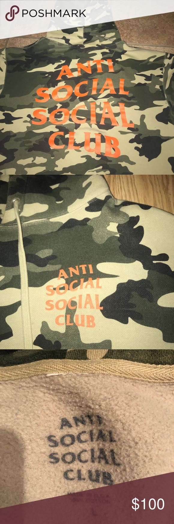 2d04ec746bef Anti Social Social Club Sixth St Hoodie It s a size large but could fit a  medium Need gone ASAP trading and offers are allowed Anti Social Social Club  Other