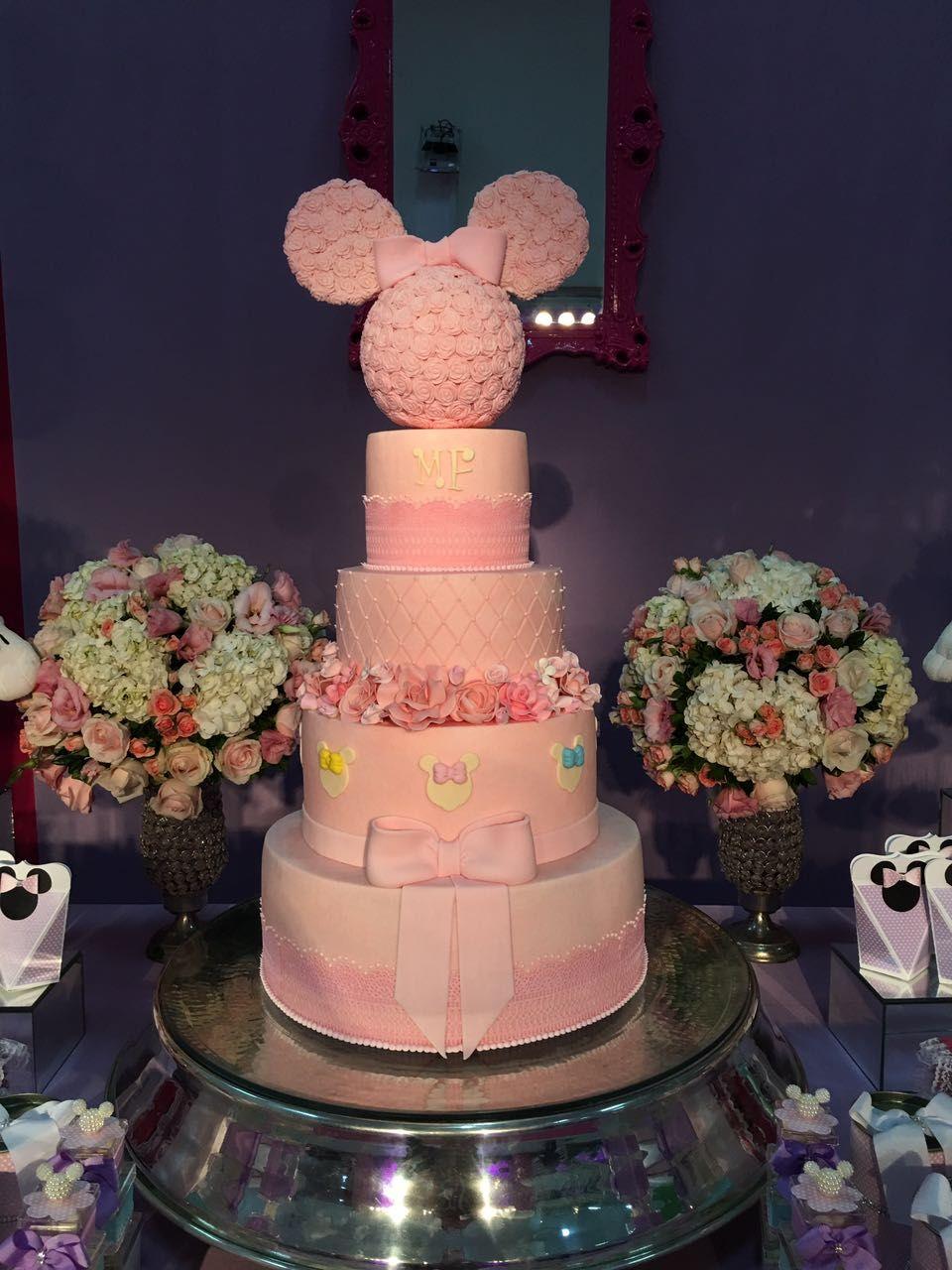 Festa tema Loja de laços da Minnie