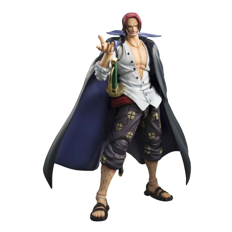 Red-Haired Shanks Action Figure Megahouse ONE PIECE Variable Action Heroes