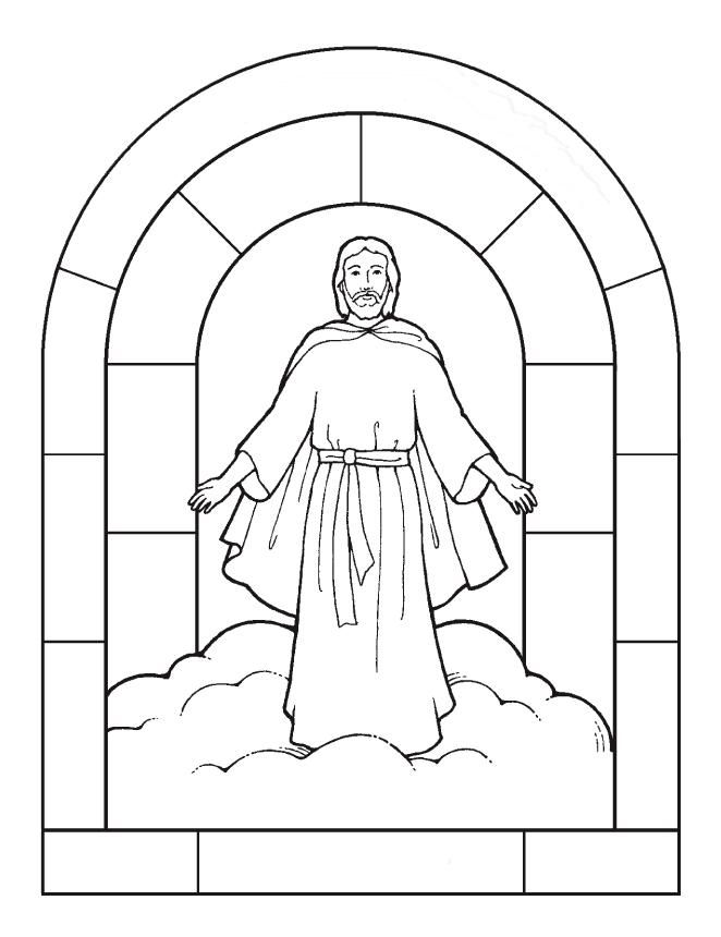 christian missionary coloring pages | Our Lord Jesus Christ Catholic Coloring page | Lds ...