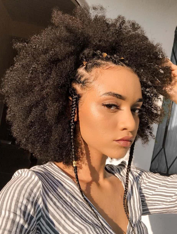 100 Hairstyles For Natural Hair You Ll Really Like Thrivenaija Natural Hair Styles Easy Short Natural Hair Styles Natural Afro Hairstyles