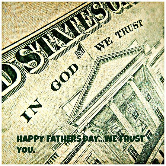 we trust YOU HEAVENLY FATHER ALONE
