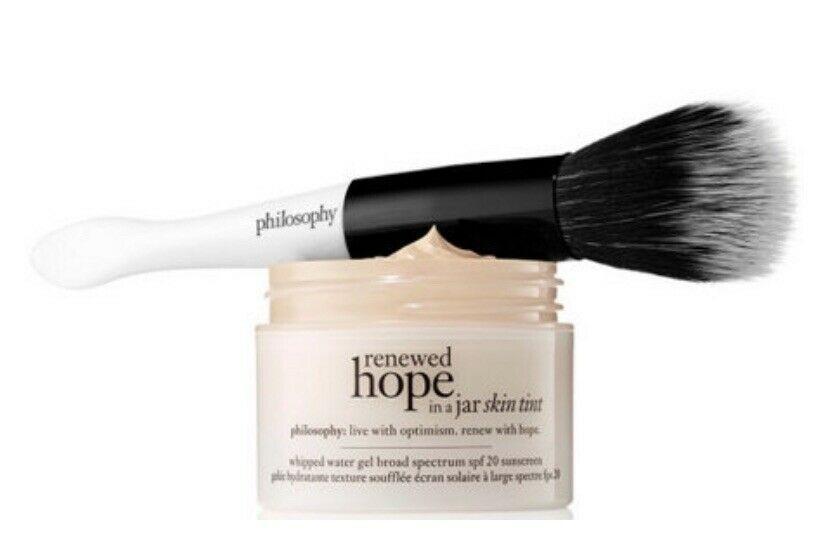 Philosophy Hope In A Jar Tint Makeup Skin Tinted Moisturizer Shade 6 Almond Philosophy Skin Makeup Tinted Moisturizer Tinted Spf