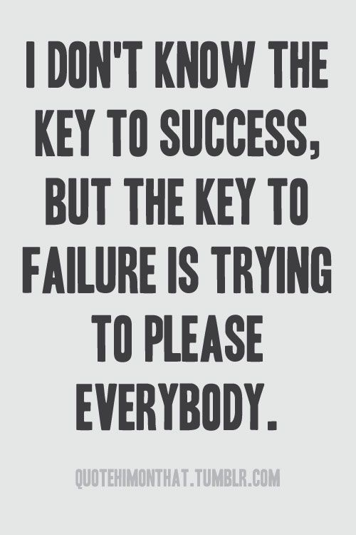 Key to failure