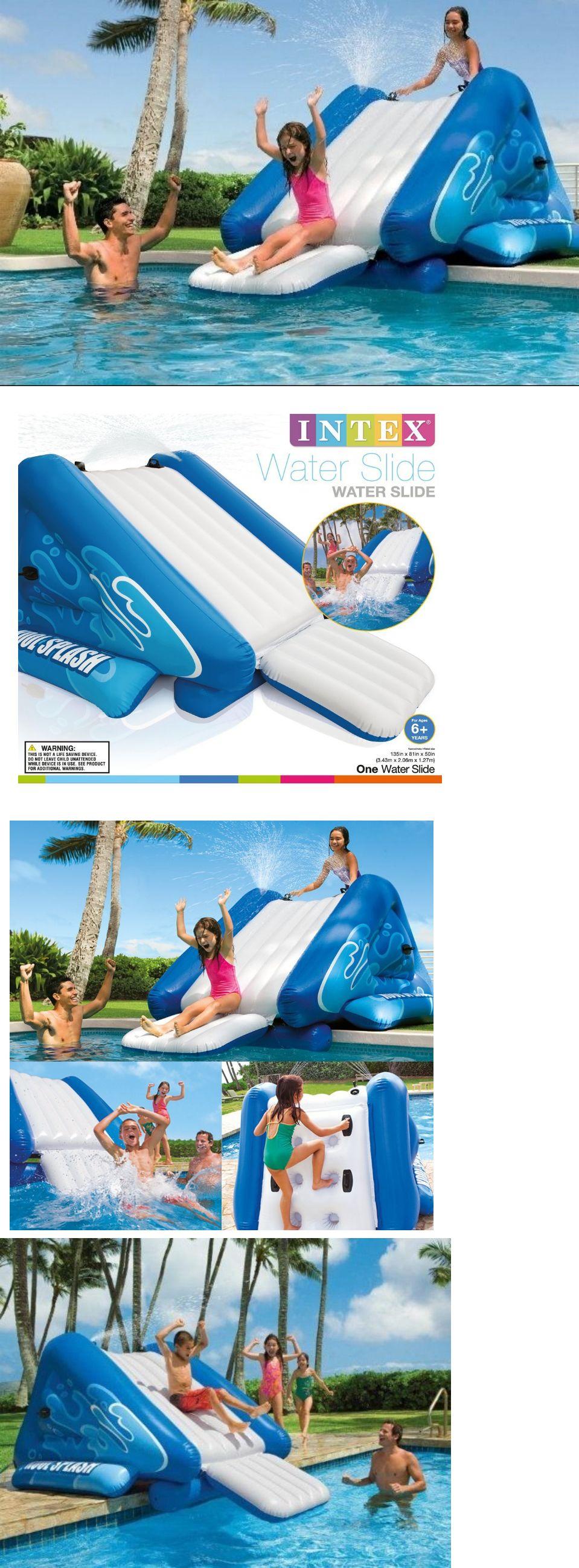 pools 145989 inflatable water slides backyard inground swimming