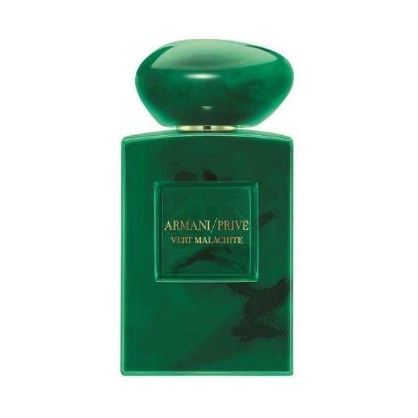 Giorgio Armani Vert Malachite Eau De Parfum 100ml (1.920 HRK) ❤ liked on Polyvore featuring beauty products, fragrance, eau de perfume, flower perfume, giorgio armani, floral fragrances and edp perfume