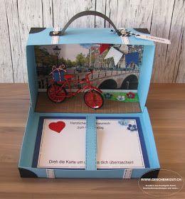 reisekoffer koffer amsterdam geschenkgutschein geldgeschenk reise geburtstag st dtereise. Black Bedroom Furniture Sets. Home Design Ideas