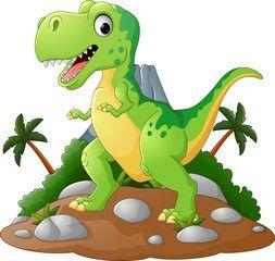 Cartoon Cute Tyrannosaurus Cartoon Dinosaur Images Dinosaur Kids Dinosaur