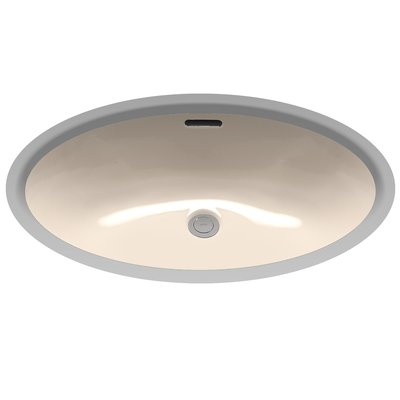 Toto Augusta Decorative Ceramic Oval Undermount Bathroom Sink With