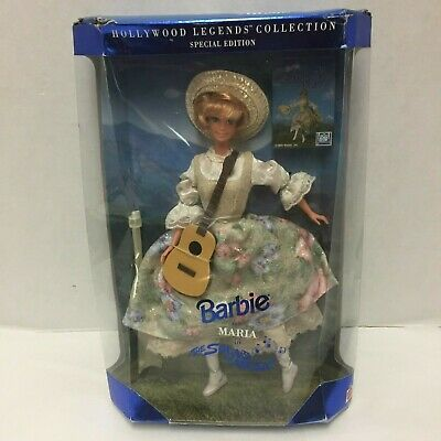 Barbie as Maria in the Sound of Music Special Edition New Hollywood Legends 74299136764   eBay